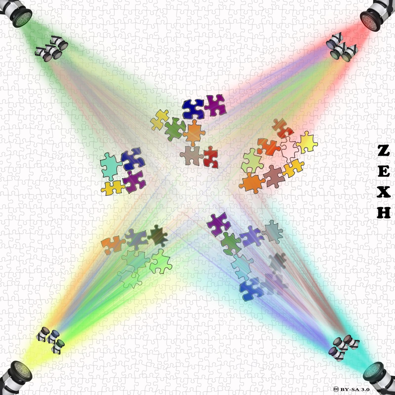 Интегральный подход - мозаичный подход: под-прожекторы, кластеры, мозаика