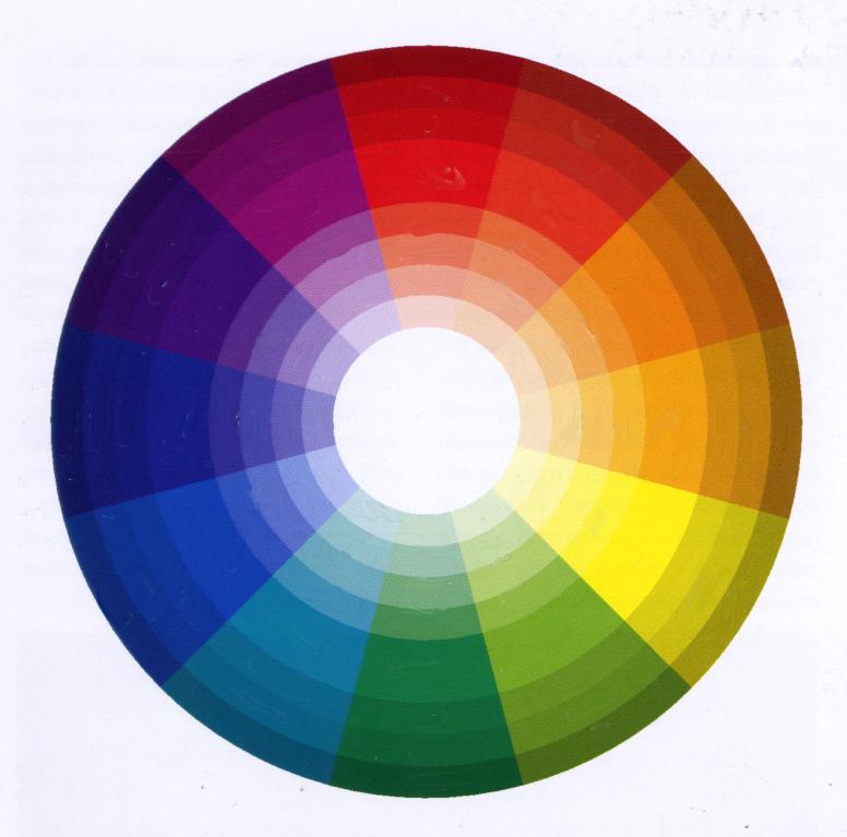 Цветовой круг ZEXH